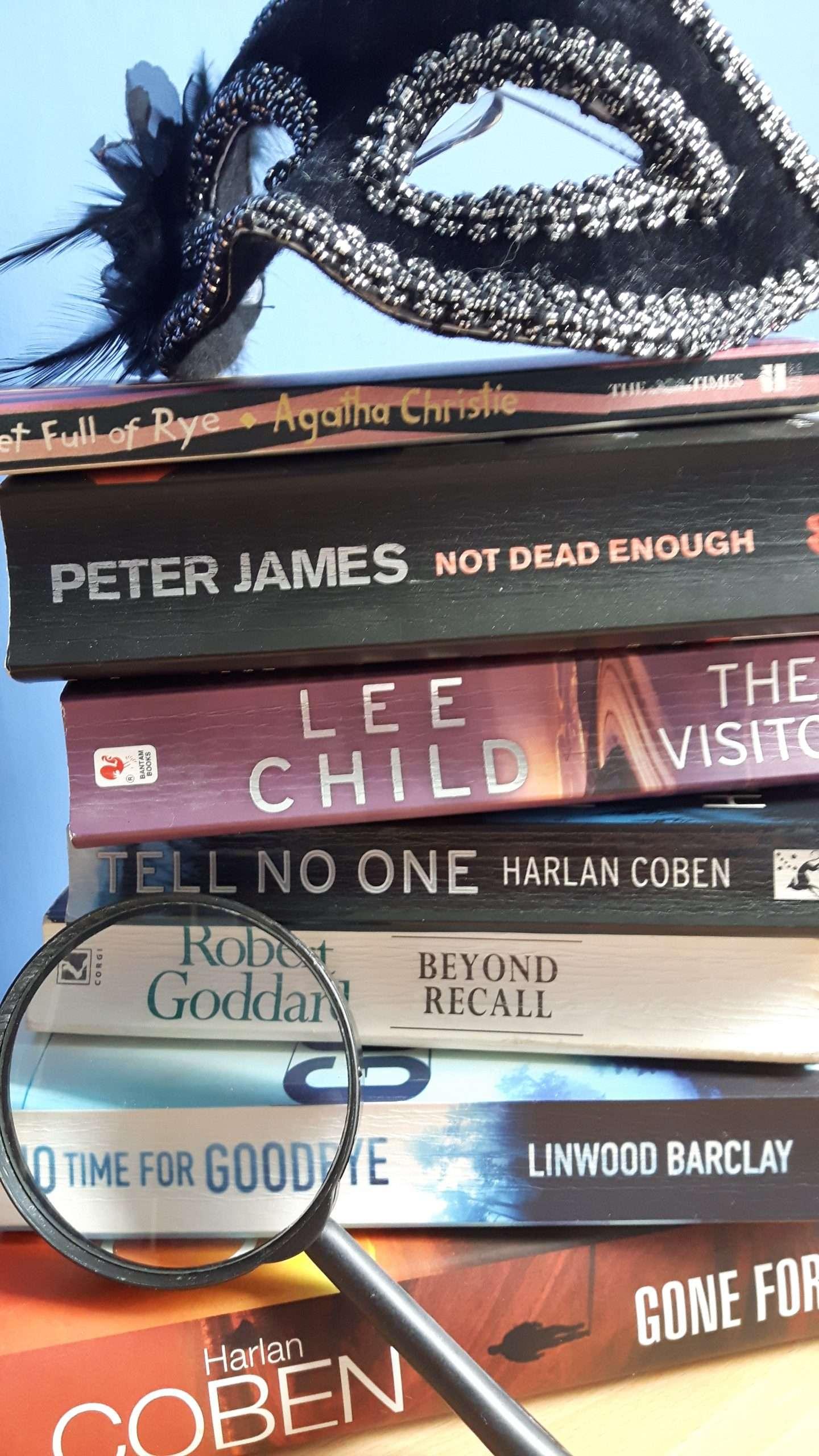 My mystery summer reading list