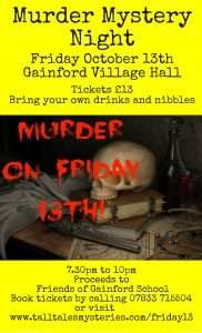 Murder On The 13th - a charity murder mystery night