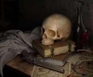 Murder & Old Bones a virtual murder mystery
