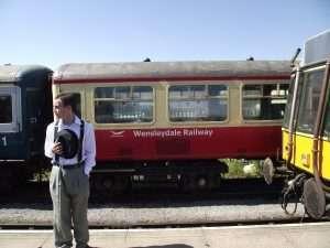 A Halloween murder mystery on Wensleydale Railway