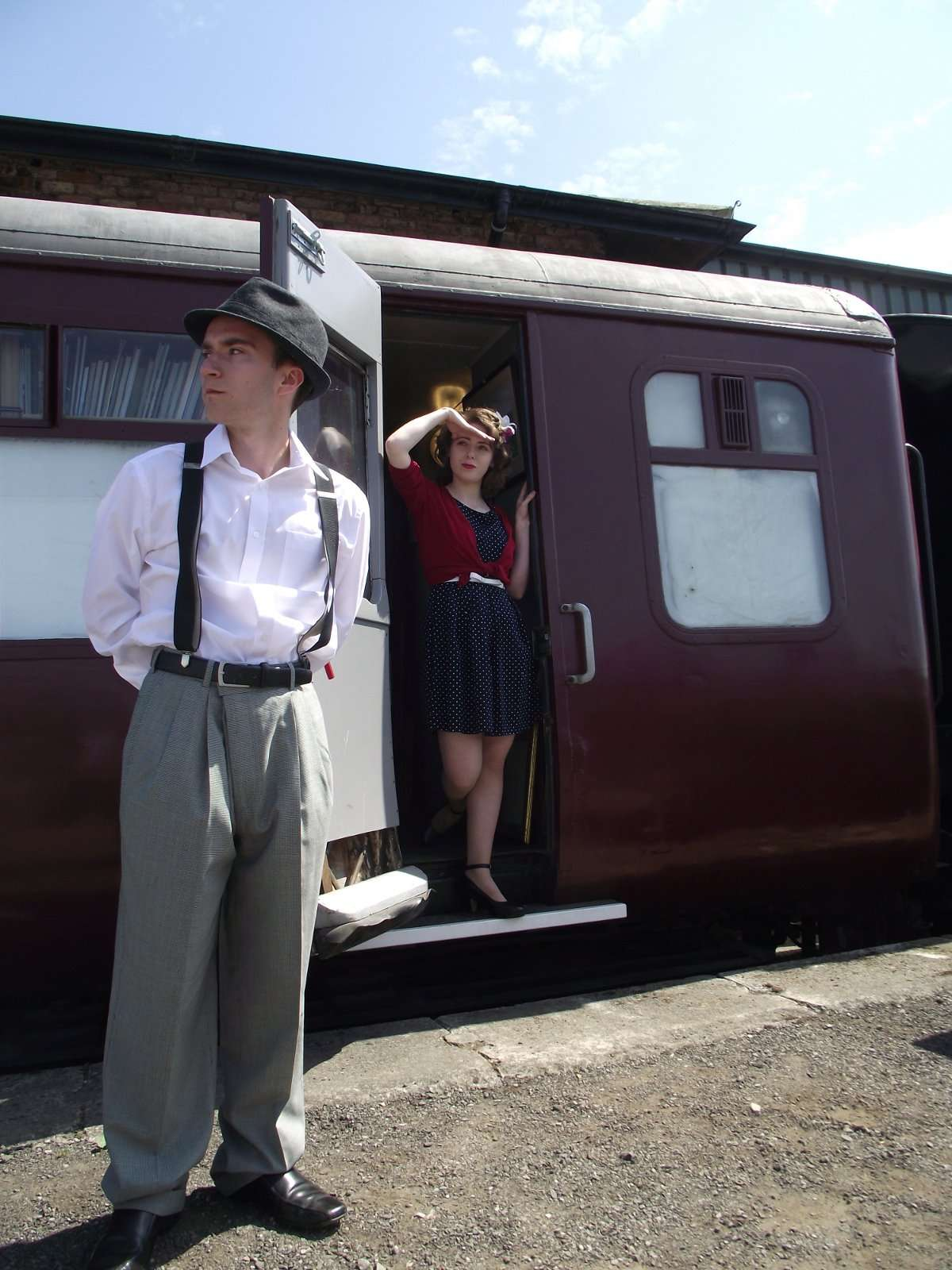 All aboard for a murder mystery at Wensleydale Railway