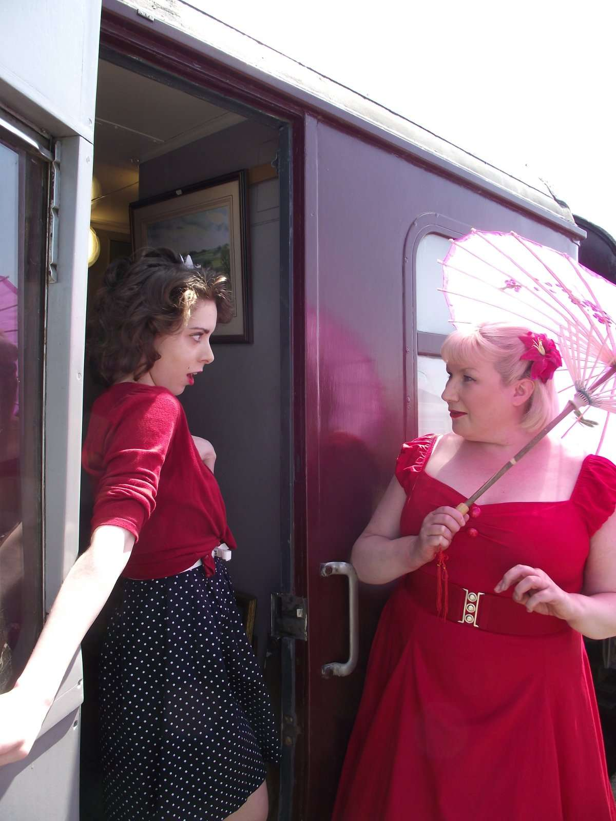 Whodunnit at our murder mystery at Wensleydale Railway