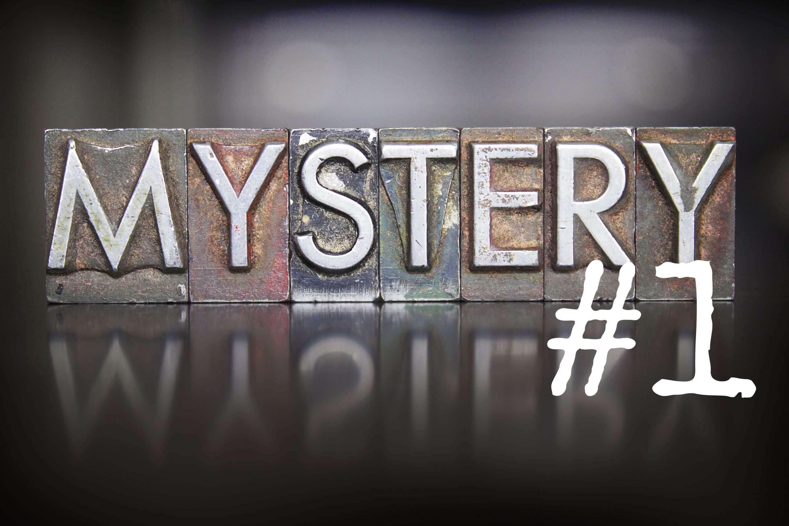 Mystery Tales #1- a short mystery story