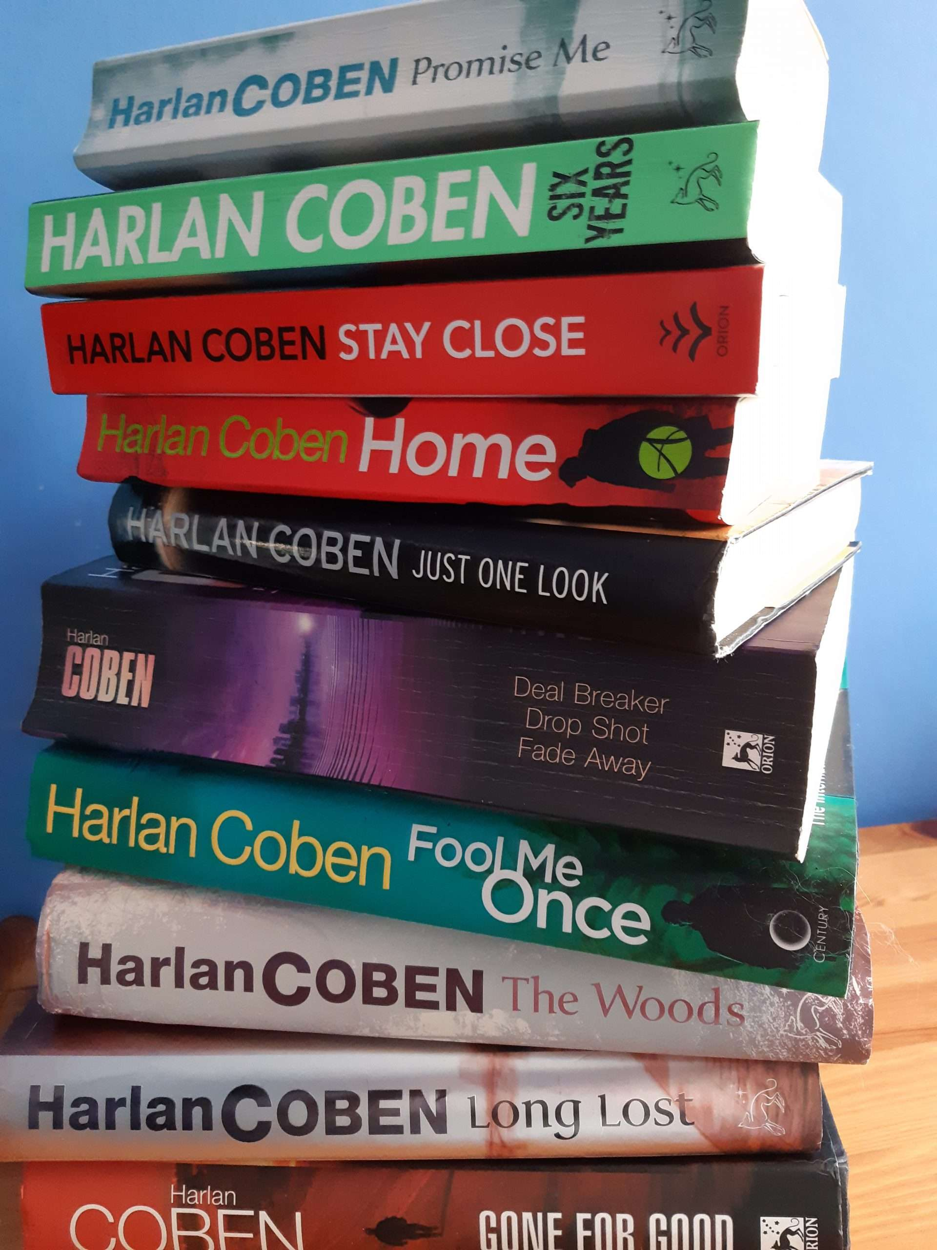 Harlan Coben's books – my Top Five favourites