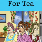 There's no time for tea in this fun mystery for kids