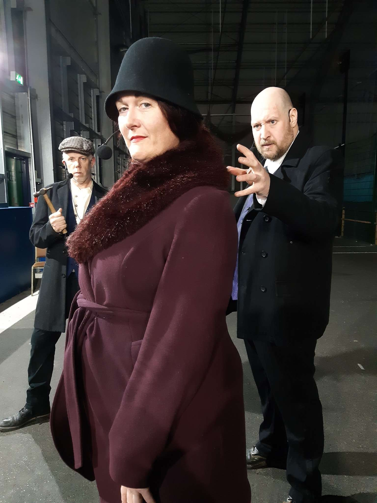 Peaky Blinders-style murder mystery