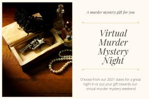 murder mystery night gift voucher