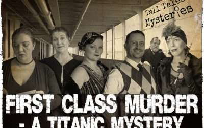 First Class Murder! Virtual murder mystery weekend